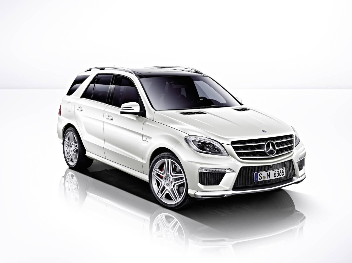 News Mercedes Benz Ml 63 Amg Arrival June 2012
