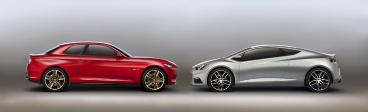 News Two Concept Coupes From Chevrolet