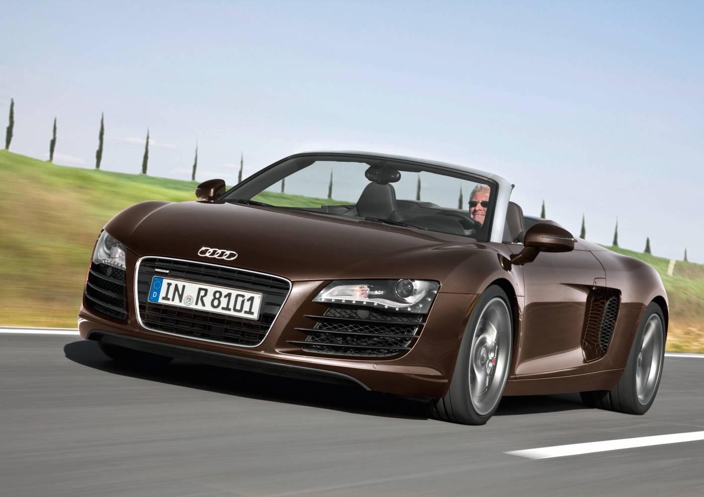 News 4 2 Litre V8 Joins Audi R8 Spyder Lineup