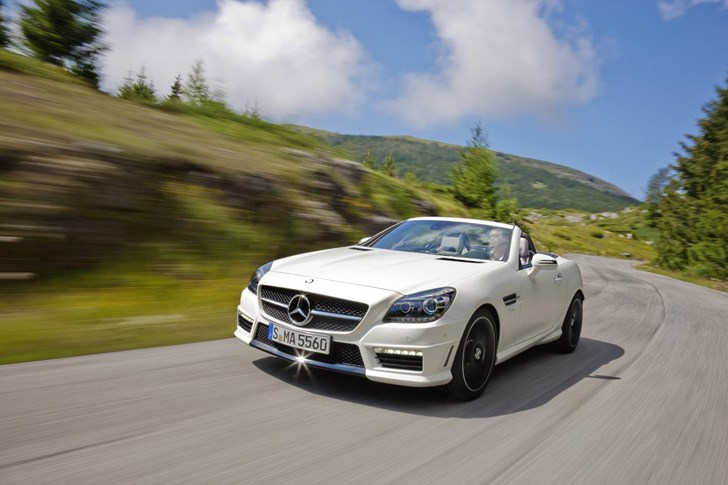 2012 MERCEDES-BENZ SLK 2D CONVERTIBLE
