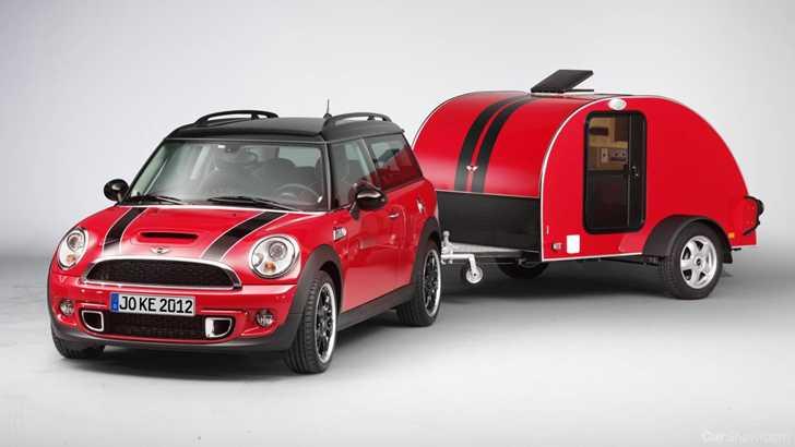 news mini adds a caravan and roof top tent. Black Bedroom Furniture Sets. Home Design Ideas