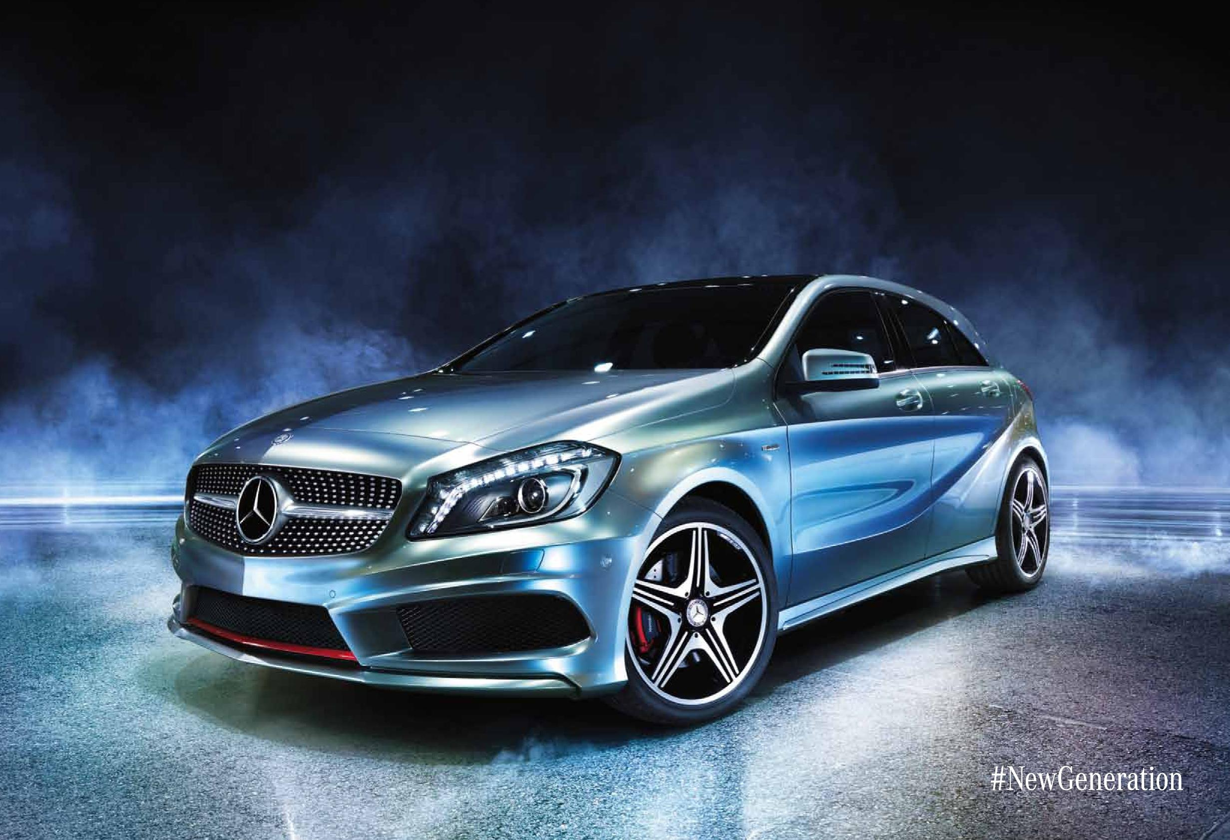 News mercedes benz a 45 amg celebrates 45 years of amg for Mercedes benz new advert