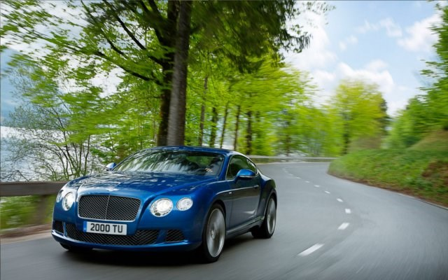 2012 BENTLEY CONTINENTAL 2D COUPE