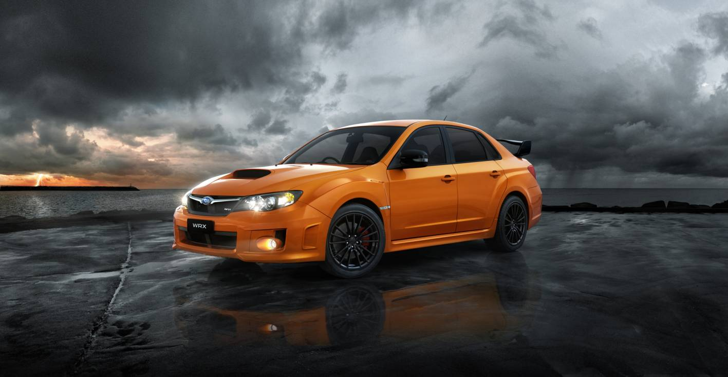News - Subaru WRX Club Spec in Tangerine Or Black