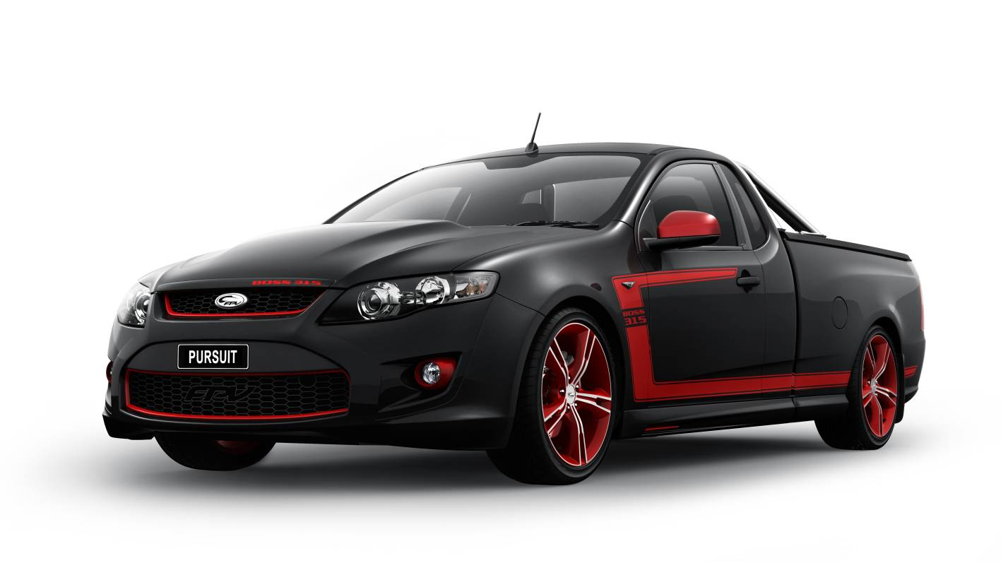 News Fpv Gt Rspec Amp Pursuit Ute For Sydney