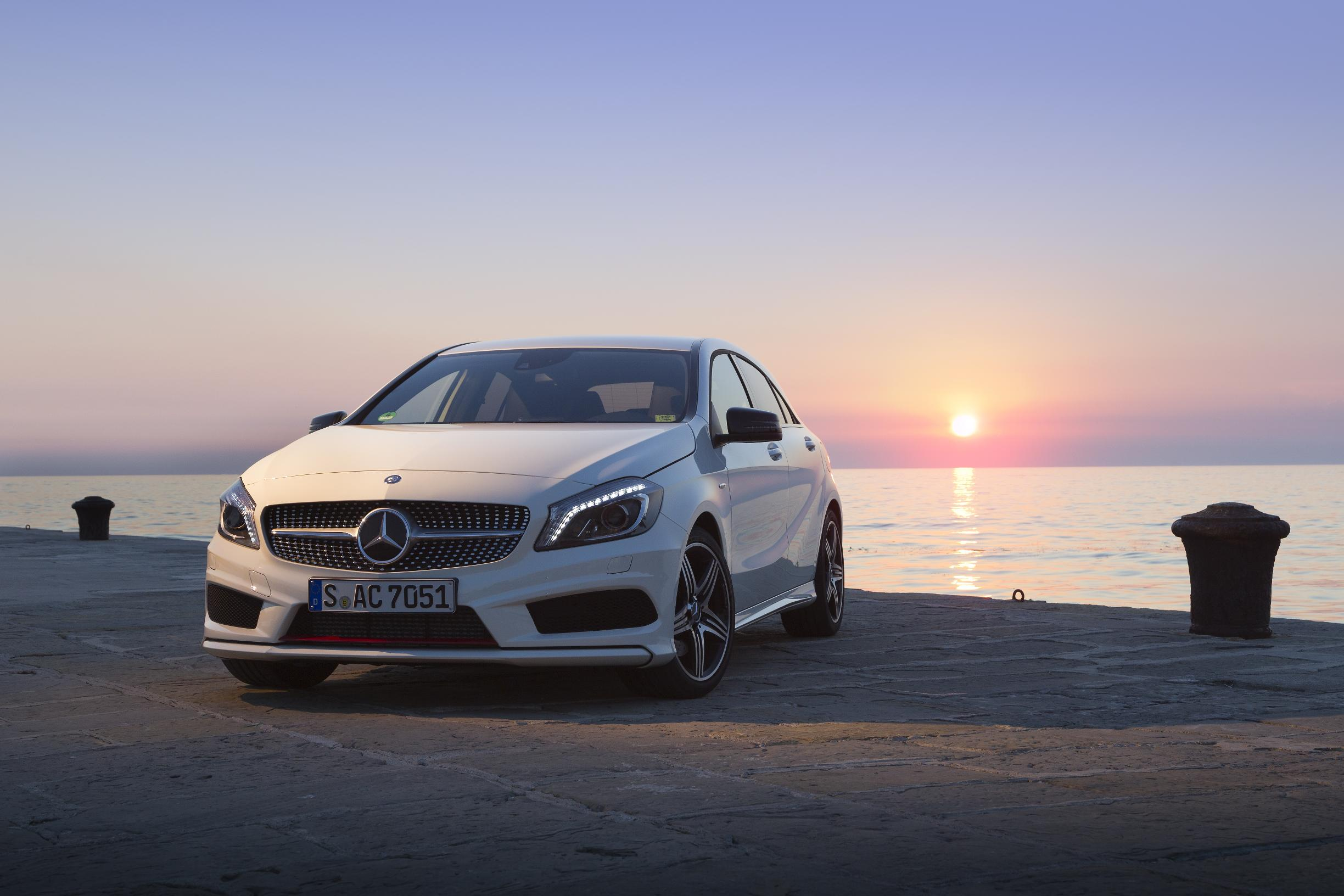 News all new mercedes benz a class for All new mercedes benz