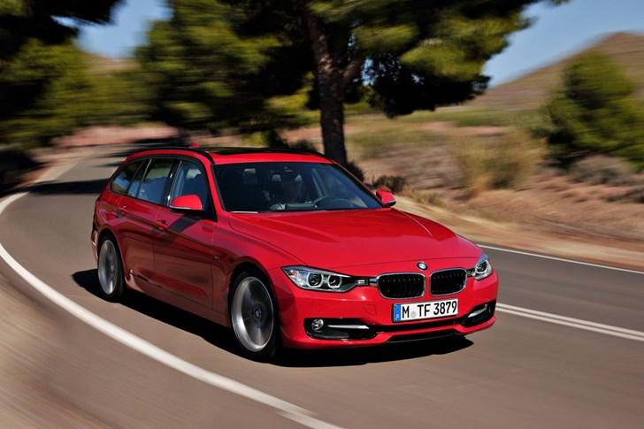 2012 BMW 3 4D WAGON
