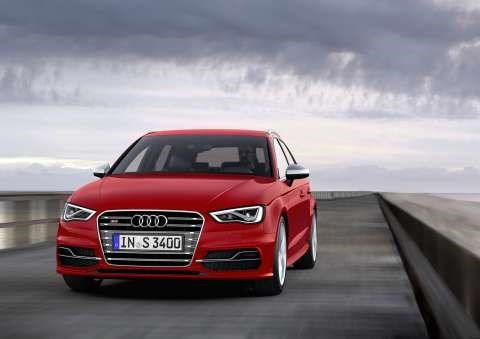 2013 Audi A3 Sportback Due October