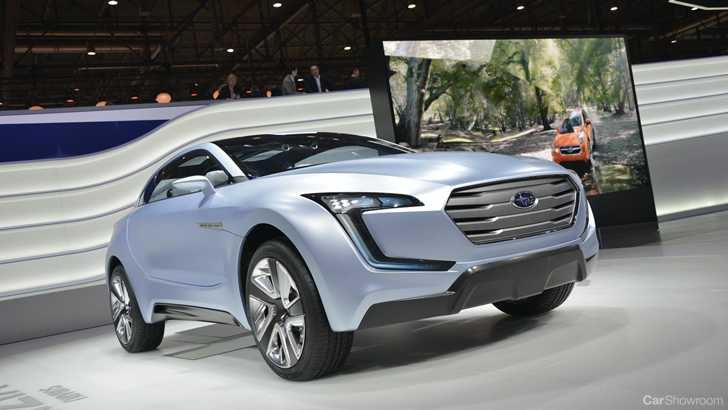 News Geneva Debut For Subarus Viziv Suv Concept