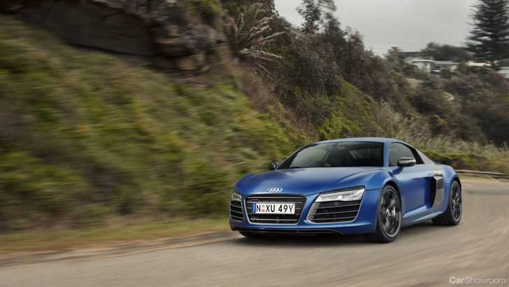 News 2013 Audi R8 Lineup V10 Plus Stars