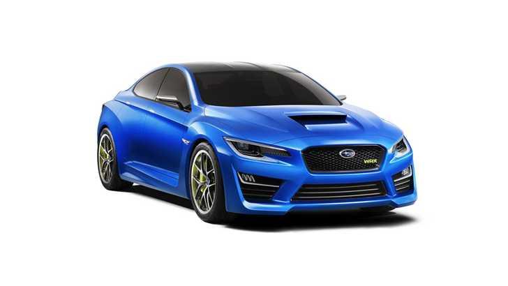 News Subaru Wows With Wrx Concept