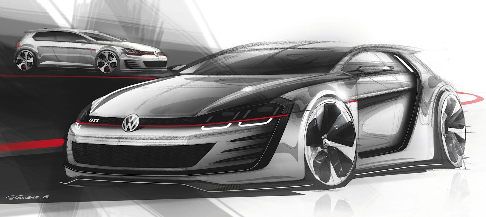 News - 370kW Volkswagen Golf GTI Concept Breaks Cover