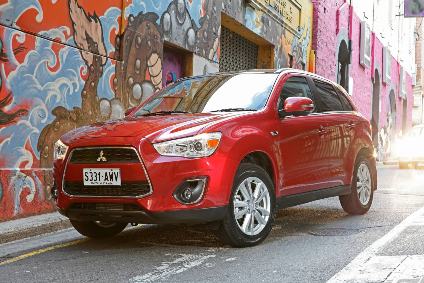 news new 2 2 litre turbo diesel automatic highlights updated mitsubishi asx. Black Bedroom Furniture Sets. Home Design Ideas
