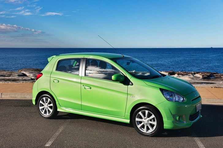 News - Mitsubishi Launches 'Pop Green' Limited Edition Mirage