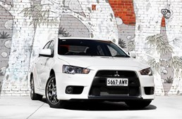 2013 MITSUBISHI LANCER 4D SEDAN EVOLUTION