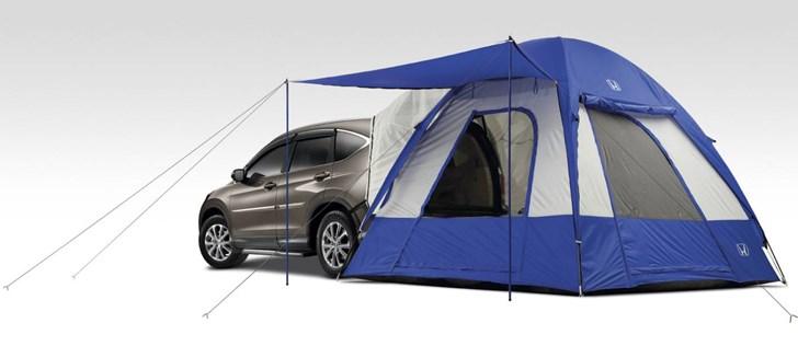 News - Honda Kits The CR-V For Camping | CarShowroom.com.au