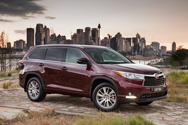 news 2014 toyota kluger price and specs