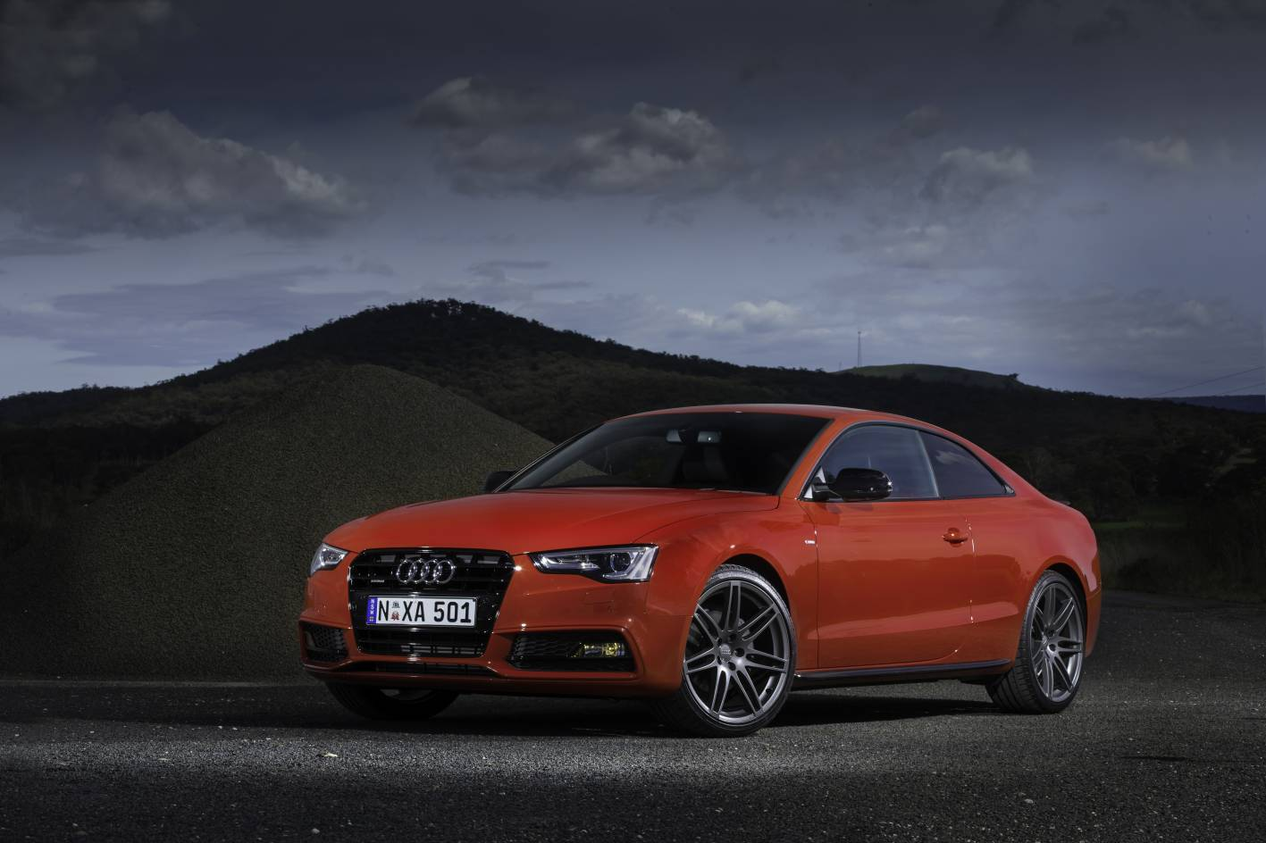 News Limited Edition Audi A5 Coupe S Line Competition
