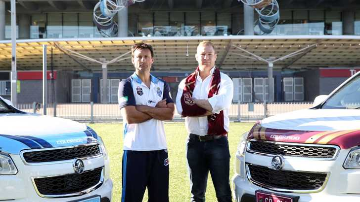 News State Of Origin Holden Colorado Colours Up