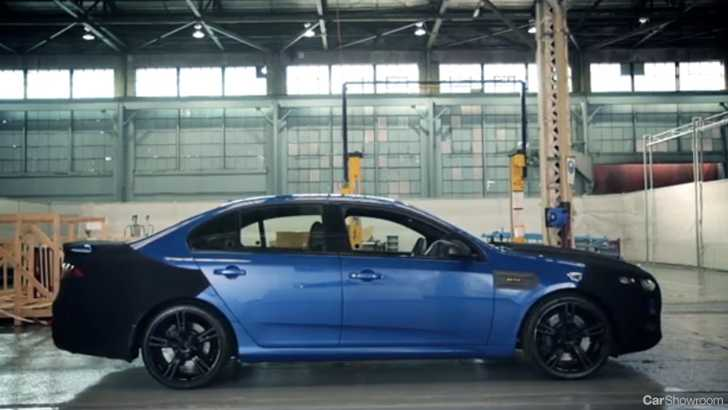 News Ford Falcon Xr8 Teased In Video