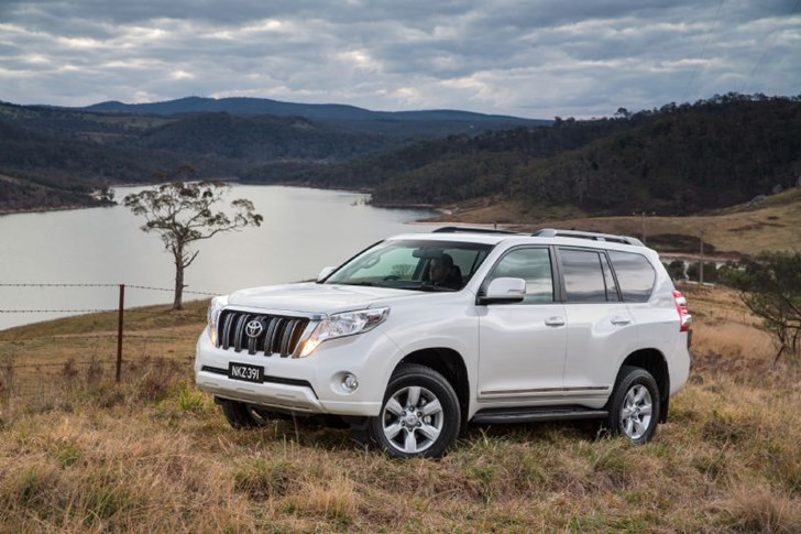 News Toyota Prado Altitude No Visible Spare Wheel