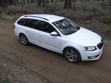 2014 SKODA OCTAVIA 4D WAGON 103 TSI AMBITION PLUS