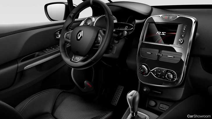 News renault launches limited edition clio rs monaco gp for Interieur clio 4